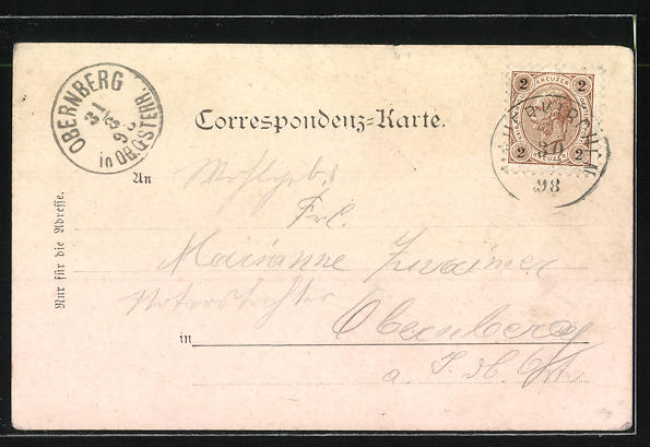 AK Mauerkirchen, Bad Biburg, Marktplatz, Denkmal, Schloss Spitzenberg, Totalansicht 1