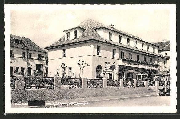 AK Gallspach, Partie am Grossgasthof Salzburgerhof 0