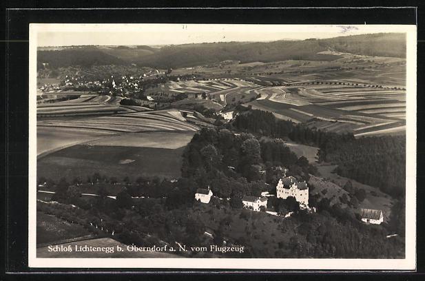AK Landpoststempel Trichtingen über Sulz am Neckar 1