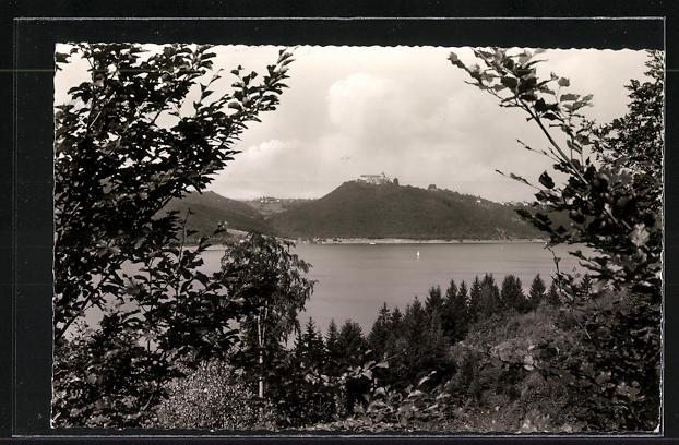 AK Landpoststempel Rehbach über Bad Wildungen 1