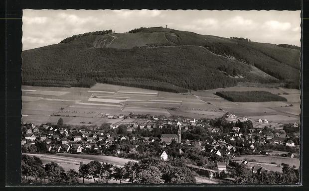 AK Landpoststempel Gierskopp über Bestwig (Sauerland) 1