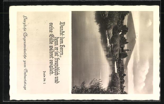AK Landpoststempel Asbacherhütte über Kempfeld (Nahe) 1