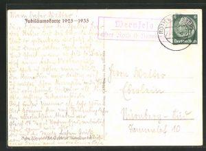 AK Landpoststempel Wernfels über Roth (b Nürnberg)