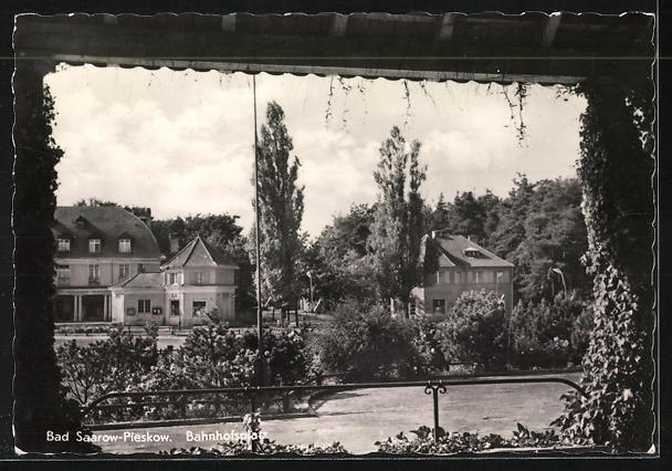 AK Landpoststempel Diensdorf über Fürstenwalde (Spree) 1