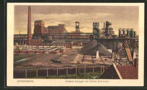 AK Caternberg, Blick auf die Kokerei-Anlagen der Zeche Zollverein