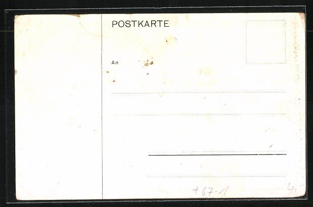 AK Düsseldorf, Ausstellungs-Gelände, Deutsch-Nationale Kunstausstellung 1907 1