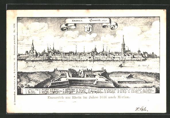 AK Emmerich, Im Jahre 1646 nach Merian 0