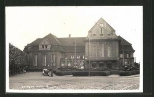AK Solingen, Vorderansicht vom Bahnhof
