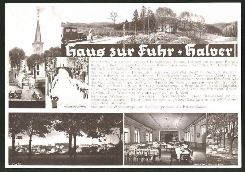 Klapp-AK Halver, Gasthaus