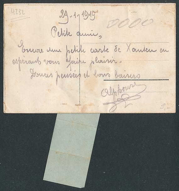 Leporello-AK Xanten a. Rh., Schwalbe mit Brief fliegt über d. Rhein, Clever Tor, Gothisches Haus, Blick z. Dom, Hospital 1