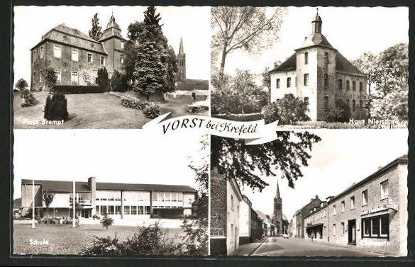 AK Vorst, Haus Brempt, Haus Niersdonk, Schule, Clevenstrasse 0