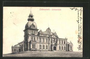 AK Lüdenscheid, Blick auf Gasthaus Schützenhalle