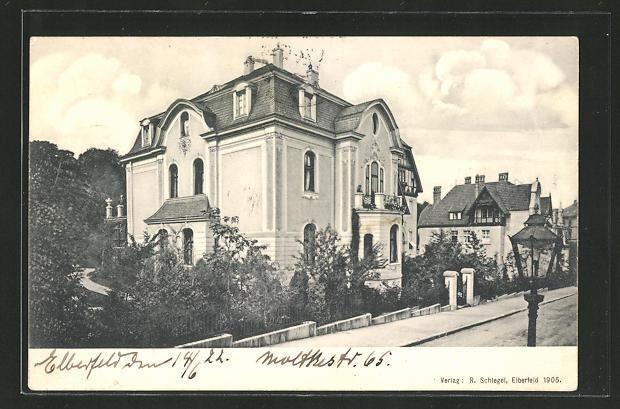 AK Elberfeld, Villa, Moltkestrasse 65 0