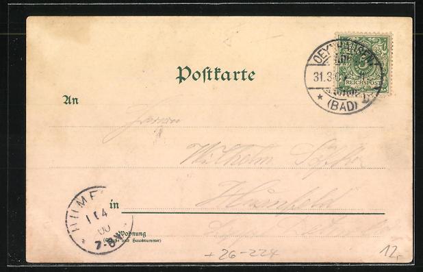 Künstler-AK Erwin Spindler: Porta Westfalica, Ortspanorama, Weserlied 1