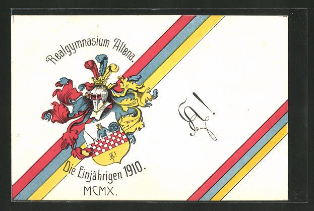 AK Altena, Wappen des Realgymnasiums 0
