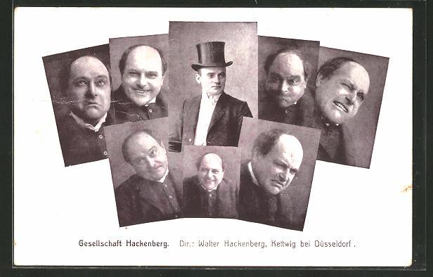 AK Kettwig, Komiker Walter Hackenberg 0