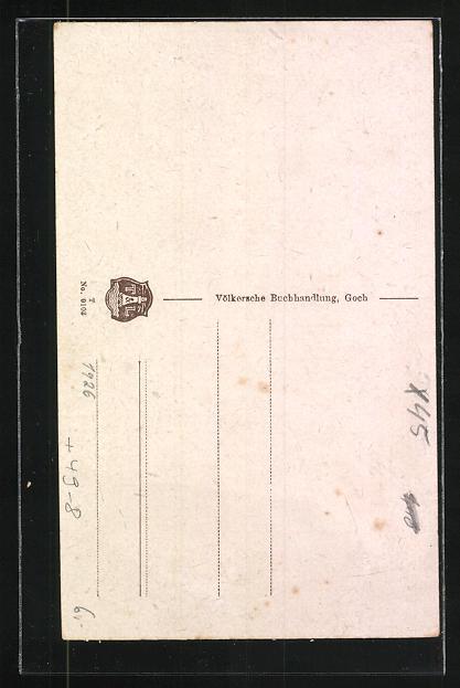 AK Calcar, Hanselaerer Tor und Mühle um 1926 1