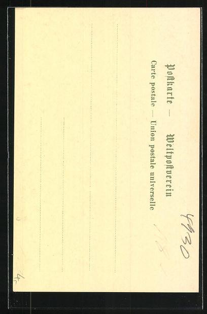 AK Detmold / Lippe, Wappen und Eichenblätter 1