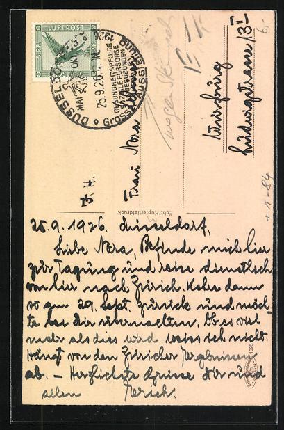 AK Düsseldorf, Heinrich Heine's Geburtshaus mit Bäckerei & Conditorei Wilh. Weidenhaupt 1