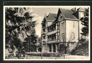 AK Bad Sachsa / Südharz, Kurhotel Fritz Sauckel-Haus
