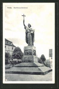 AK Fulda, Bonifacius-Denkmal