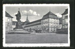 AK Fulda, Denkmal auf dem Bonifacius-Platz