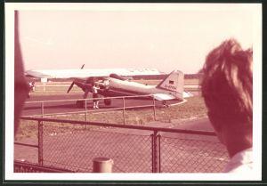 Fotografie Flugzeug Hochdecker Propellermaschine Kennung D-EFKA Aero Exploration
