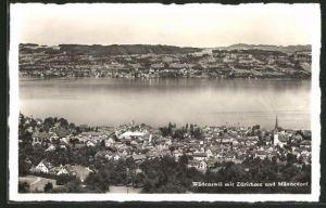 AK Wädenswil, Zürichsee und Männedorf