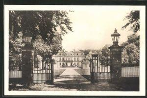 AK Calden, Einfahrt zum Schloss Wilhelmsthal