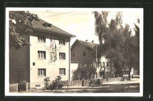 AK Bad Wörishofen, An der Villa Berninger