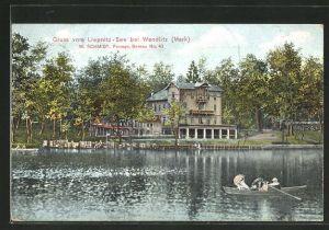 AK Wandlitz / Mark, Gasthaus zum Liepnitz-See