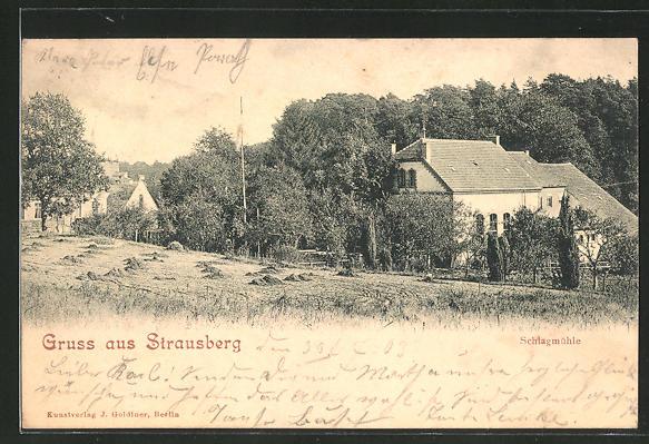 AK Strausberg, Gasthaus Schlagmühle