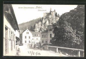AK Thörl, Ruine Schachenstein