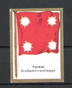 Reklamemarke Türkei, Grossadmiralsflagge