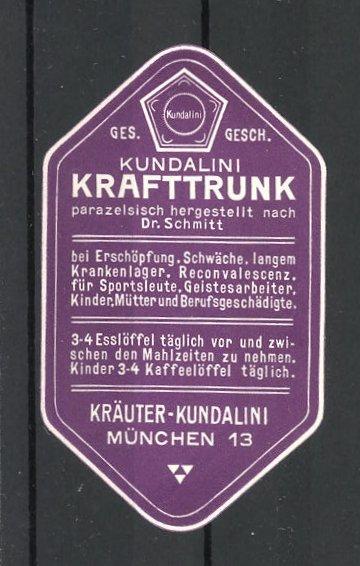 Reklamemarke München, Kundalini