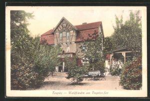 AK Teupitz, Gasthaus Waldfrieden am Teupitz-See