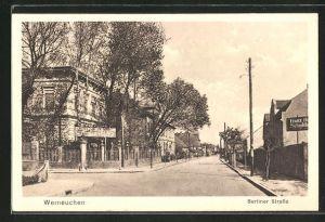 AK Werneuchen, Blick in die Berliner Strasse