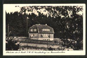 AK Benneckenstein, Skihütte des II. Batl. J. R. 12 Quedlinburg
