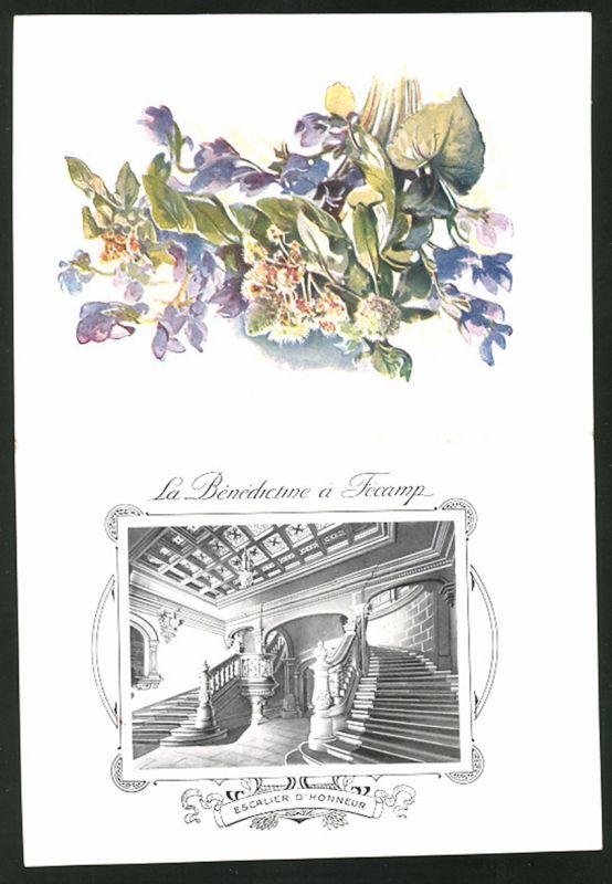 Le Treppenaufgang ükarte liqueur benedictine la benedictine a fec