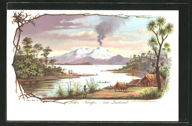AK Neuseeland, Partie am Lake Taupo