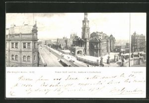 AK Sydney, Town Hall and St. Andrew's Cathedral