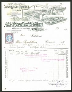 rechnung remscheid 1908 maschinen werkzeug fabrik. Black Bedroom Furniture Sets. Home Design Ideas