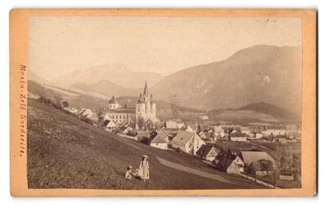 Fotografie Nikolaus Kuss, Mariazell, Ansicht Mariazell, Nordseite