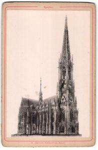 Fotografie Jäger'sche Buchhandlung, Speyer, Ansicht Speyer, Gedächtniskirche