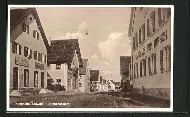 AK Kirchheim, Strassenansicht
