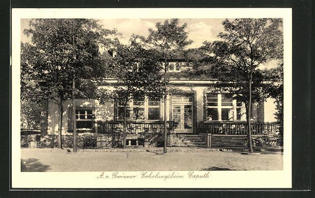 AK Caputh, Partie am A. v. Grinner Erholungsheim