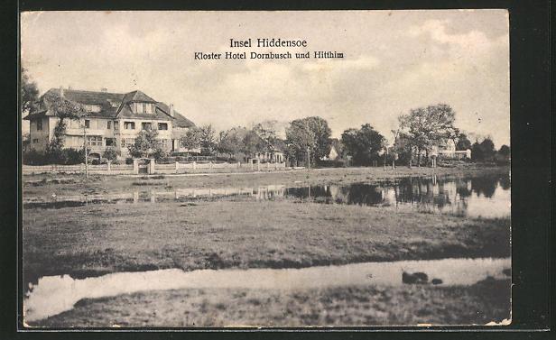 AK Insel Hiddensee, Kloster Hotel Dornbusch & Hitthim