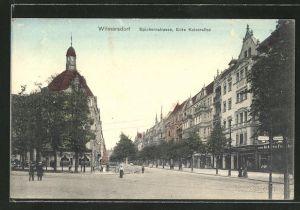 AK Berlin-Wilmersdorf, In der Spichernstrasse Ecke Kaiserallee