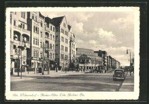 AK Berlin-Wilmersdorf, Kaiser-Allee Ecke Berliner Strasse mit Kino