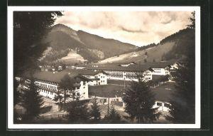 AK Oberammergau, Blick zur Kaserne